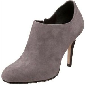 Cole Haan Air Talia gray suede booties